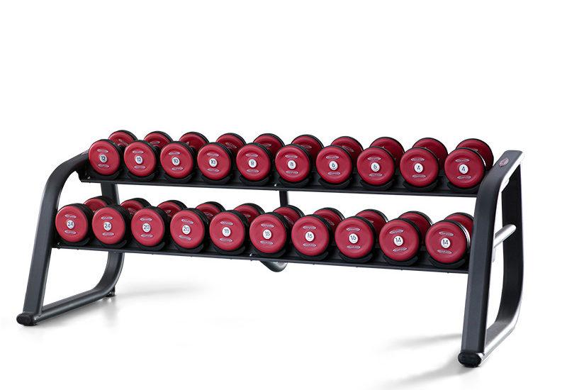 Dumbbell Rack 220 cm Rubberides 1FE250 - Panatta