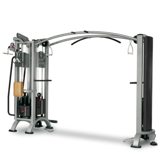 4-Station Multi Gym + Cable Station with Bar - Panatta