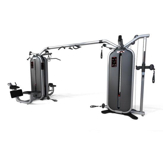 Jungle Machine + Joint Bar + 4-Station Multi Gym - Panatta